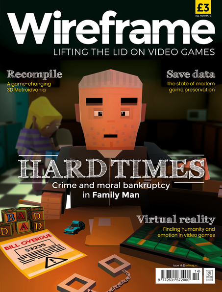 Wireframe issue 14 cover