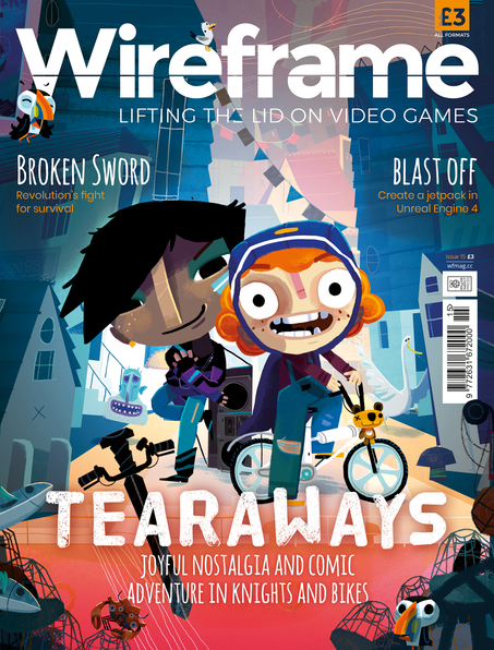 Wireframe issue 15 cover