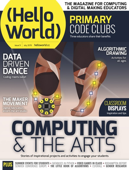 Hello World issue 9 cover