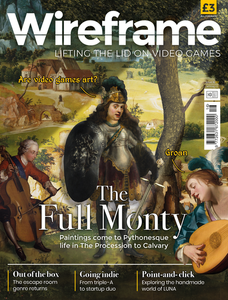 Wireframe Issue 16 cover