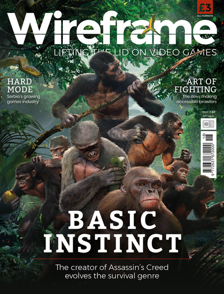 Wireframe issue 18 cover