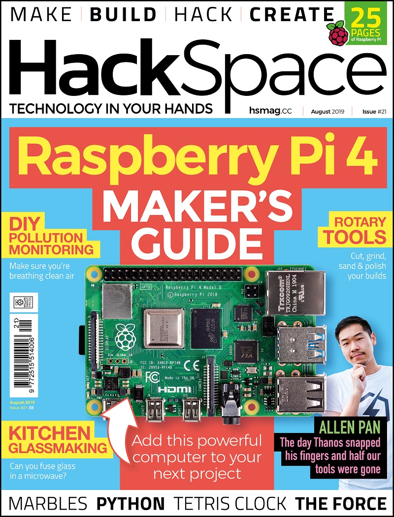 Issues — HackSpace magazine