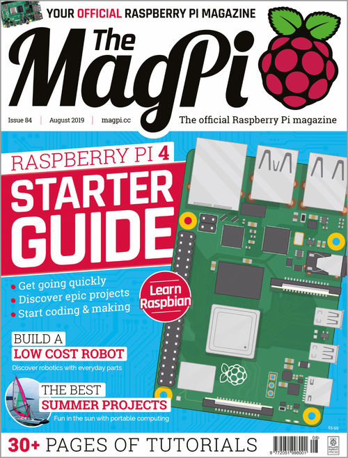 The MagPi issue 84 cover