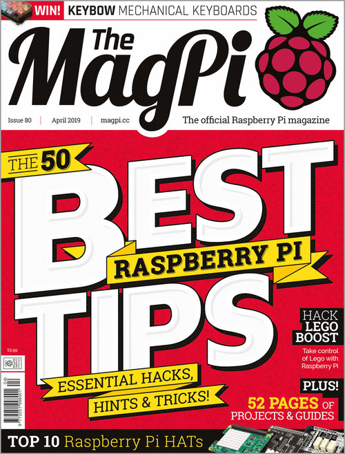 The MagPi issue 80 cover