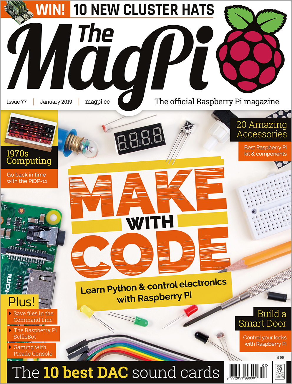 Magpi77 cover