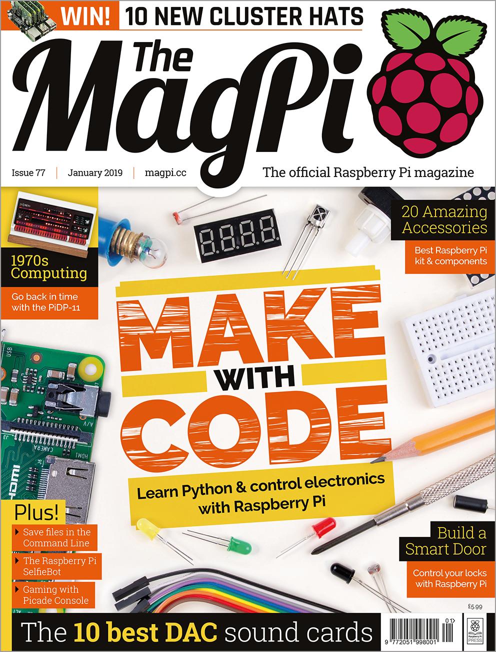 Issue 77 — The MagPi magazine