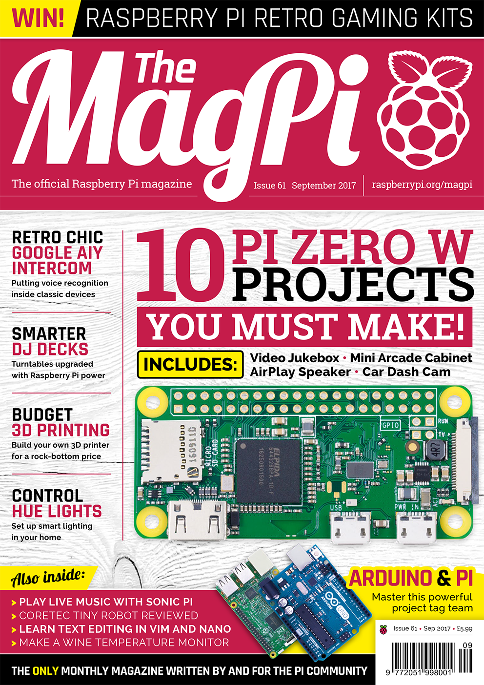 The MagPi issue 61 — The MagPi magazine