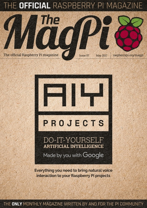 The MagPi issue 57 cover