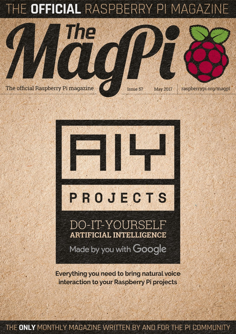 Magpi57 cover