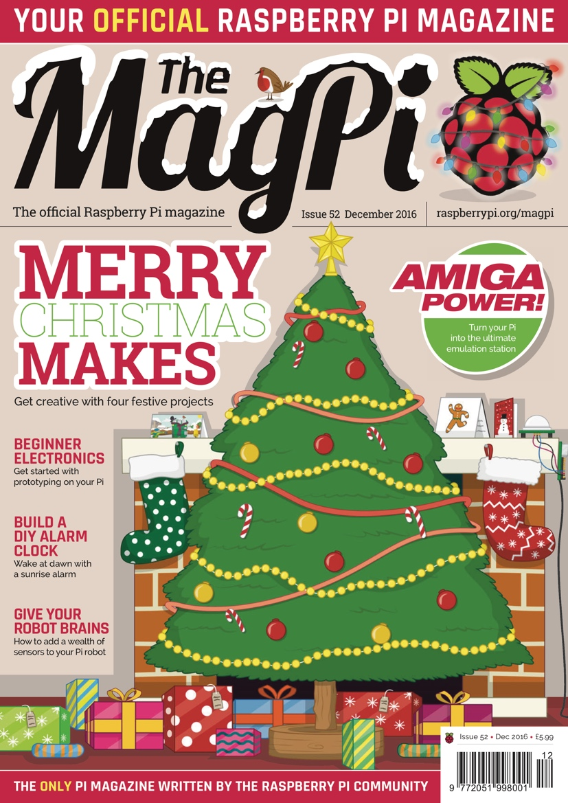 The MagPi issue 52 — The MagPi magazine