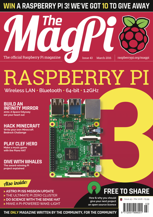 Magpi43 cover