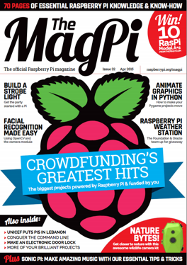 Magpi 32 cover1