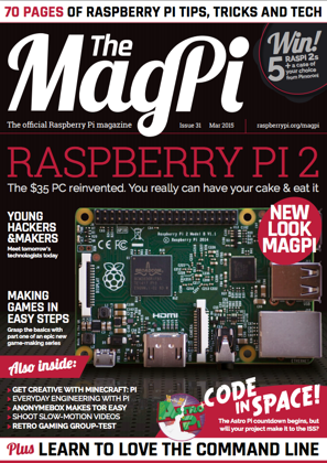 Magpi 31 cover1