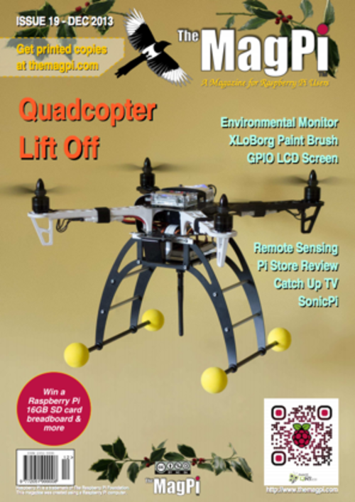 The MagPi Issue 19 cover