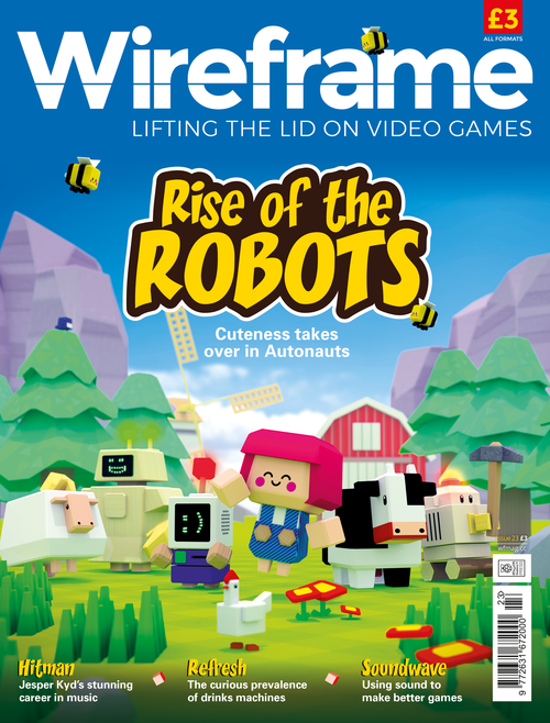Wireframe issue 23 cover