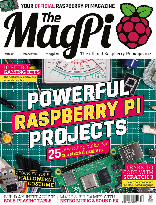 The MagPi issue 86 cover