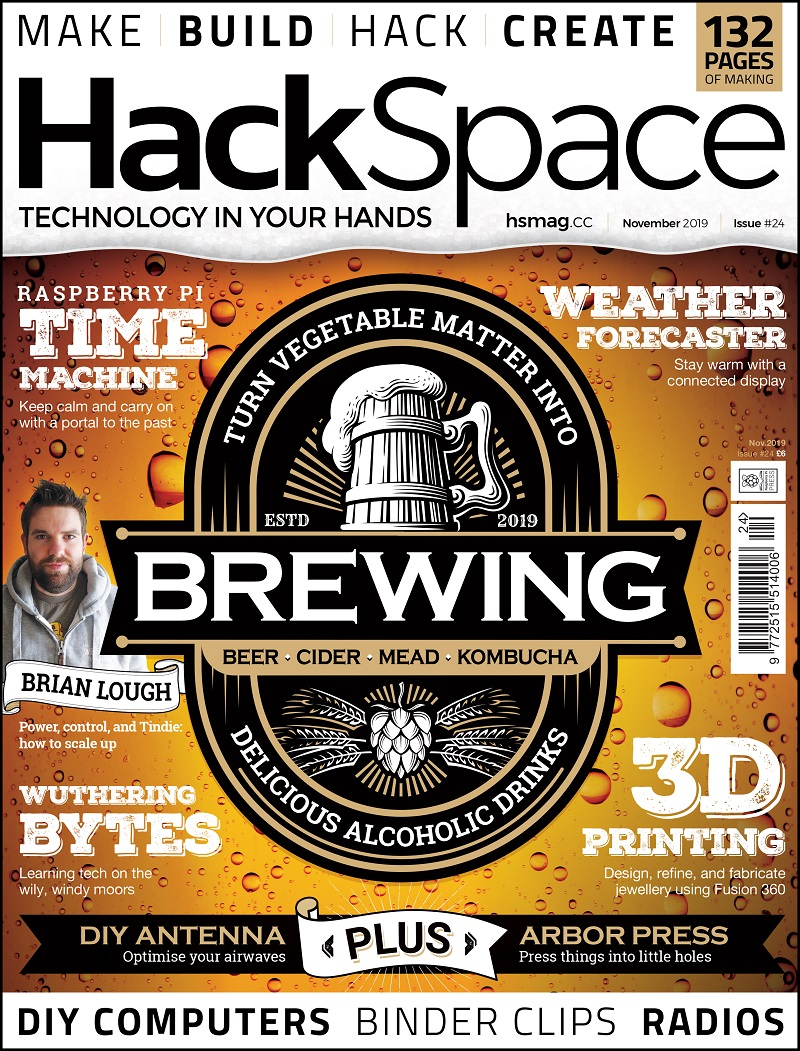 HackSpace magazine issue 24 cover