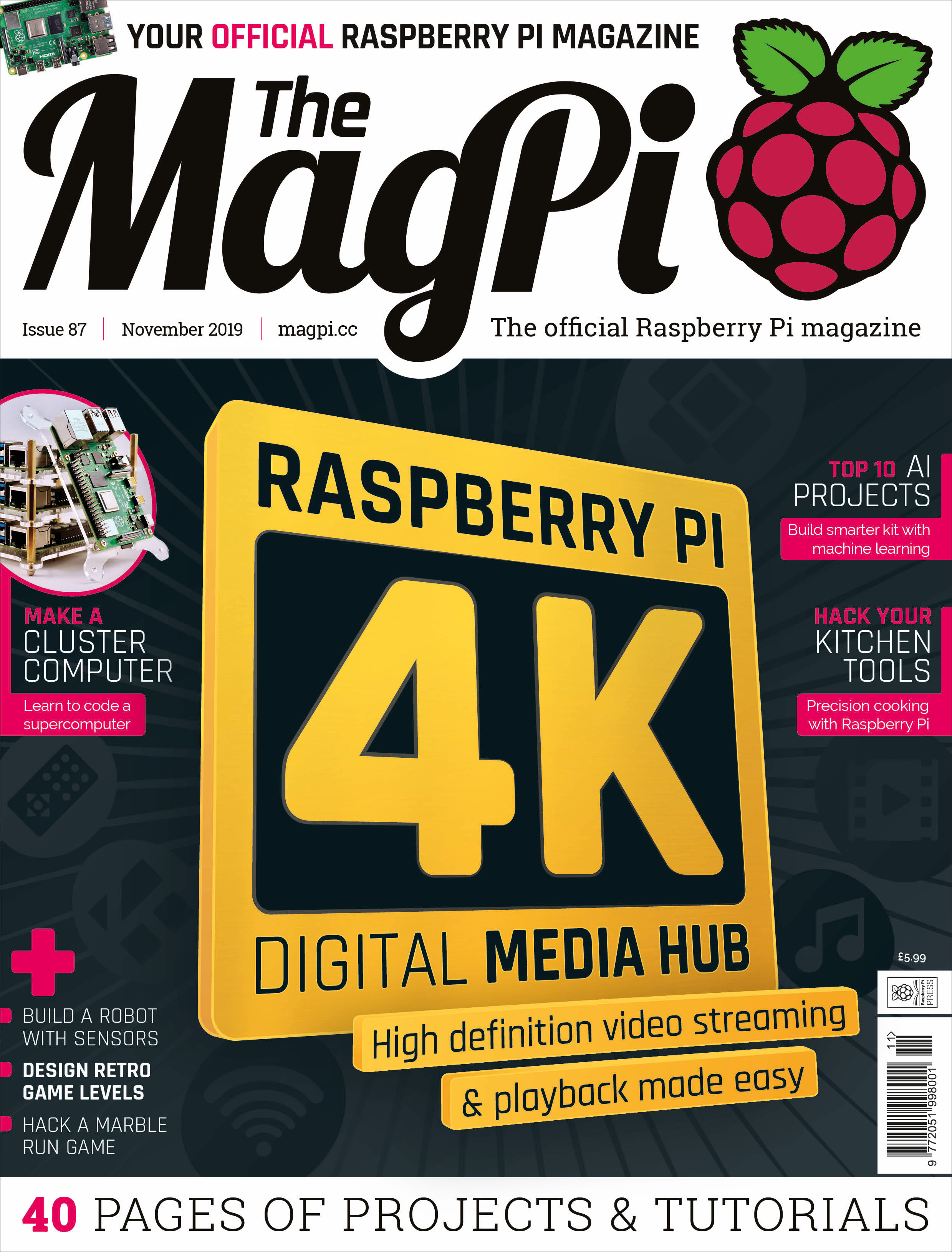 The MagPi issue 87 cover