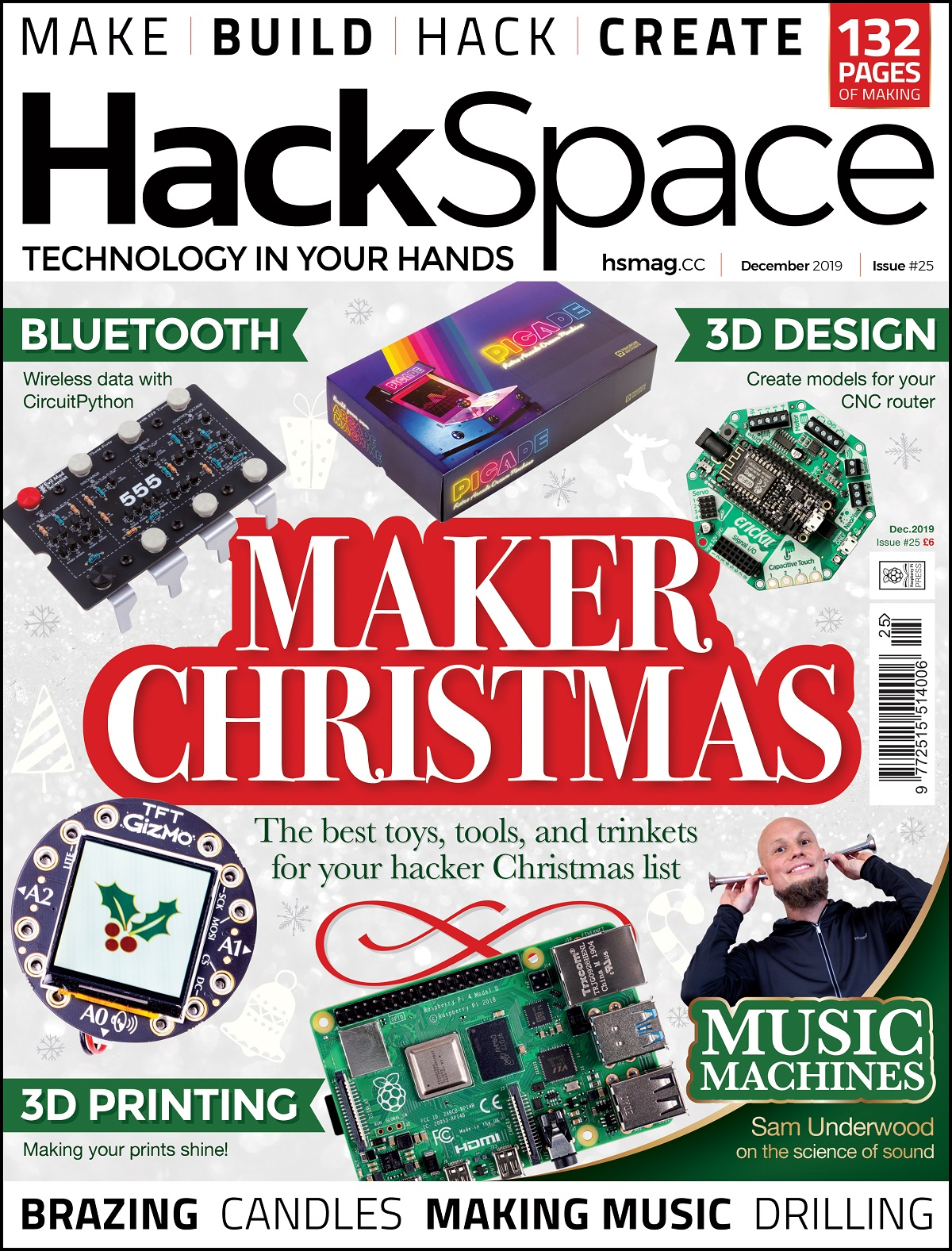 HackSpace magazine issue 25 cover