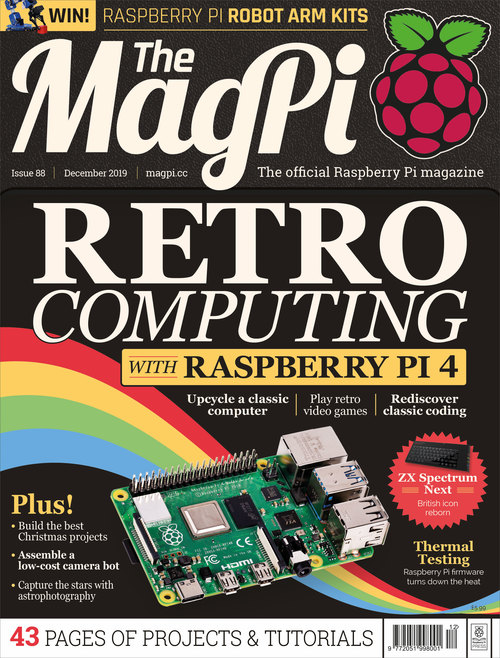 The MagPi issue 88 cover