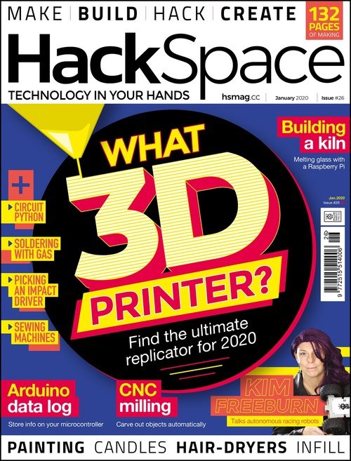 HackSpace magazine issue 26 cover