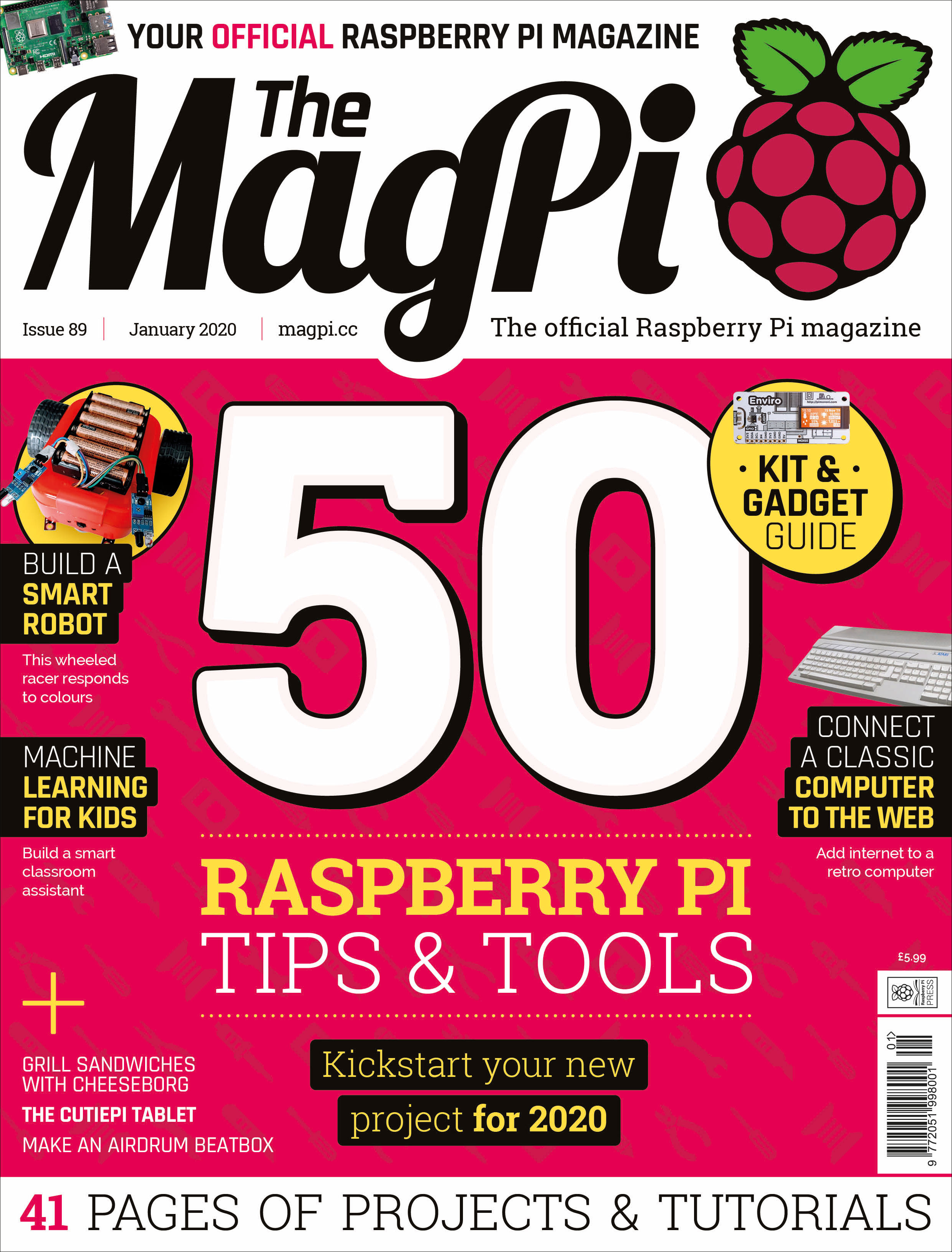 Issues — The MagPi magazine