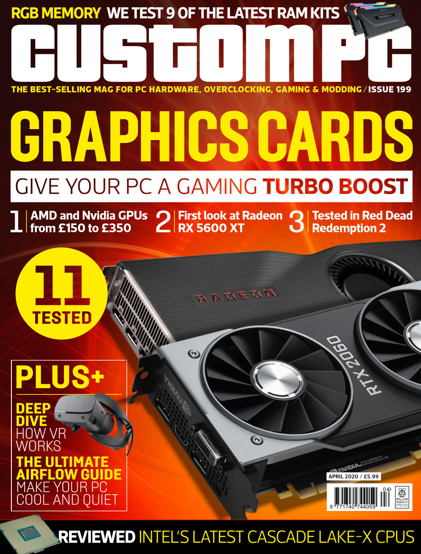 Custom PC issue 199 cover