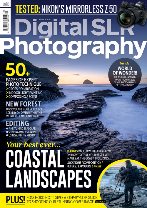 Digital SLR Photography issue 160 cover
