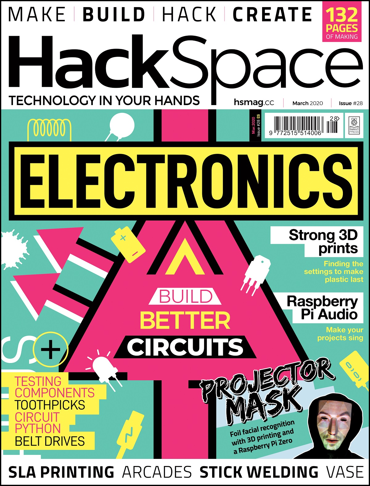HackSpace magazine issue 28 cover