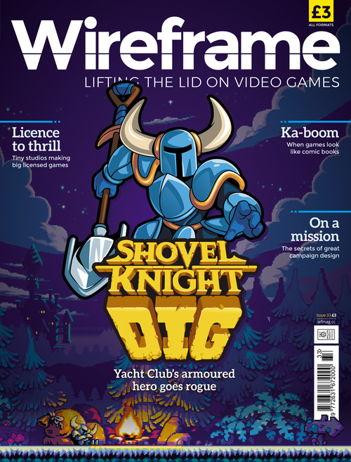 Wireframe issue 33 cover
