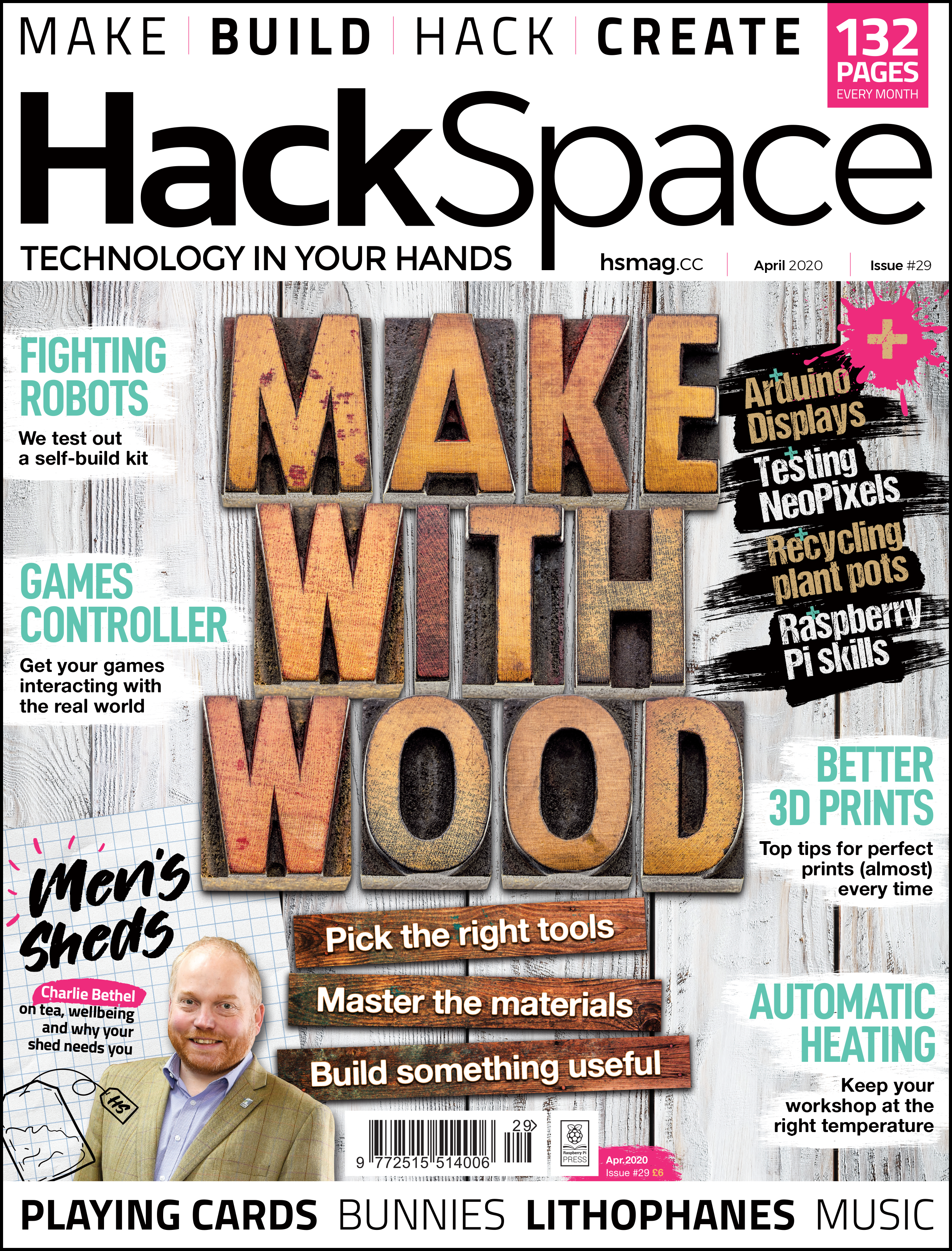HackSpace magazine issue 29 cover