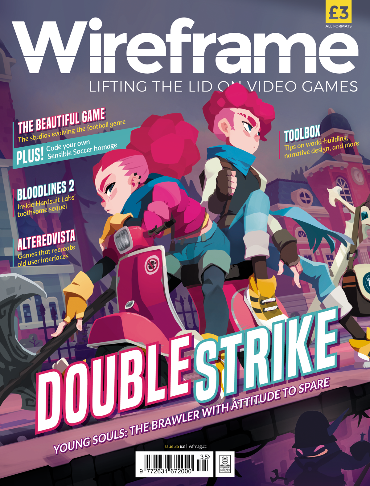 Wireframe issue 35 cover