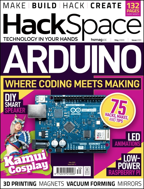 HackSpace magazine issue 30 cover