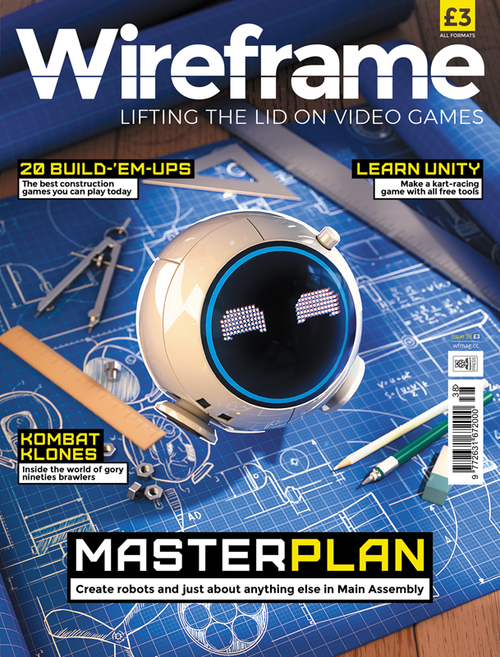 Wireframe issue 38 cover