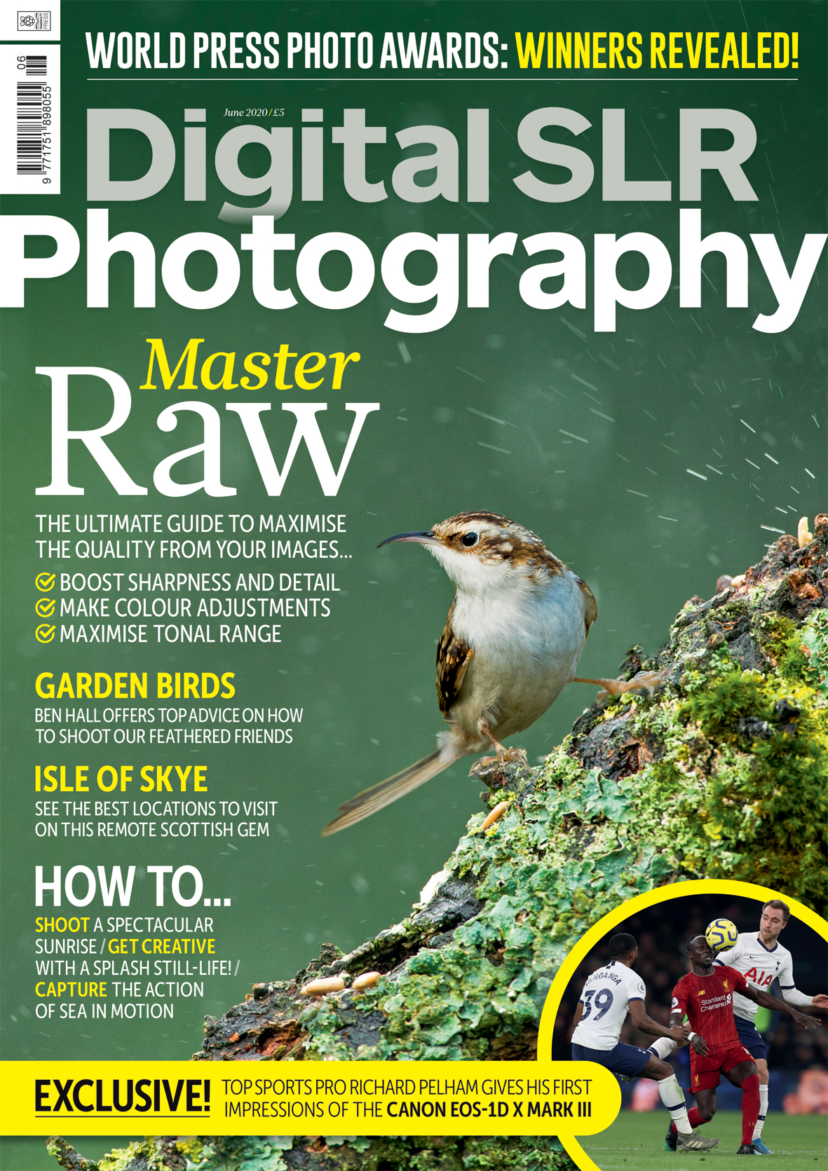 Digital SLR Photography issue 163 cover