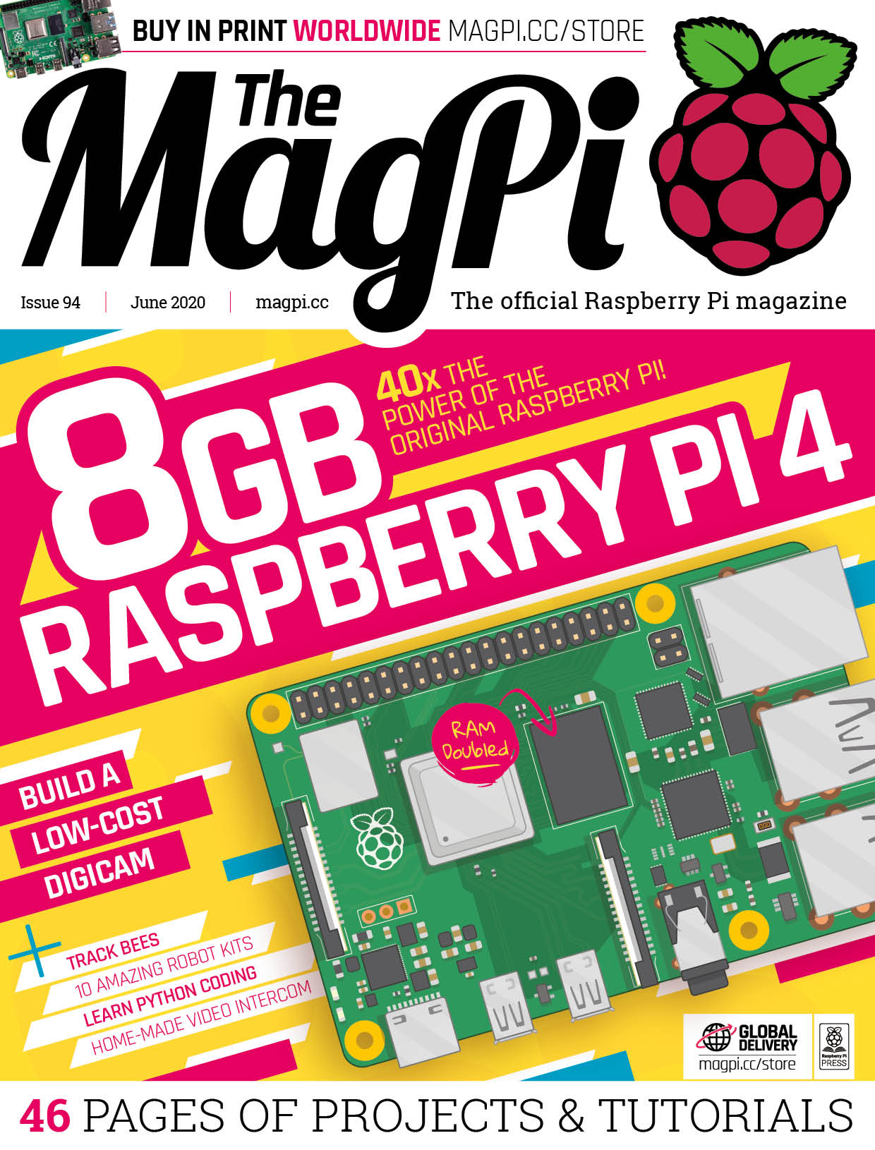 The MagPi issue 94 cover