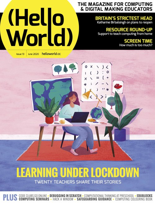 Hello World issue 13 cover