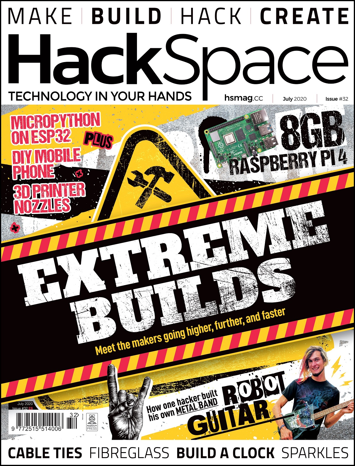 HackSpace magazine issue 32 cover