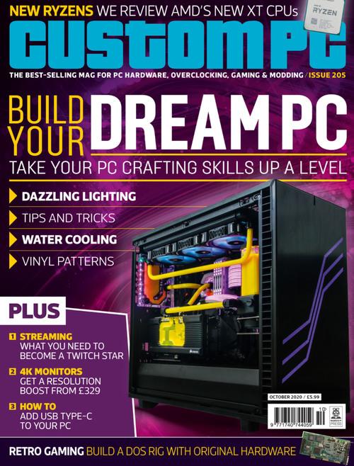 Custom PC issue 205 cover