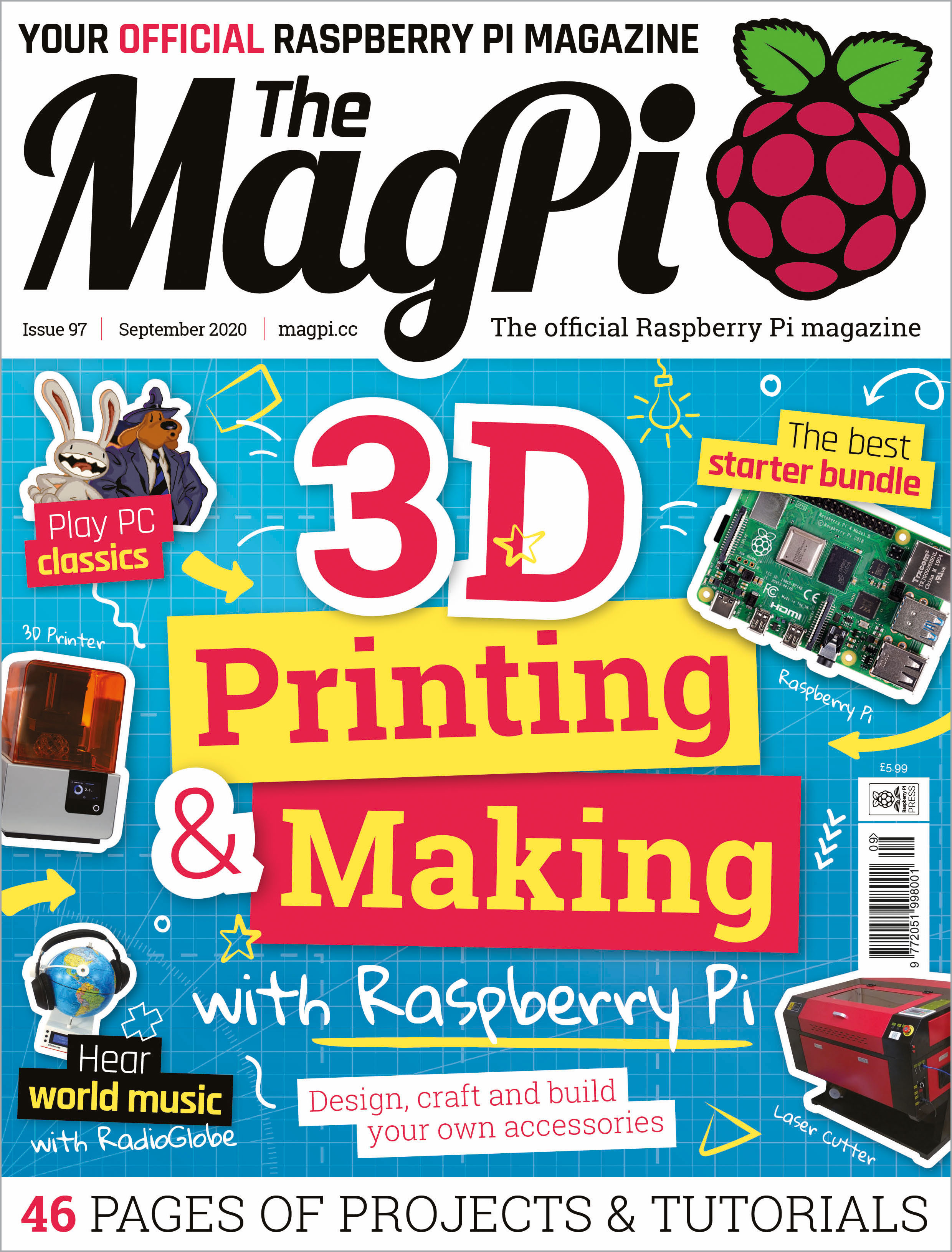 The MagPi issue 97 cover