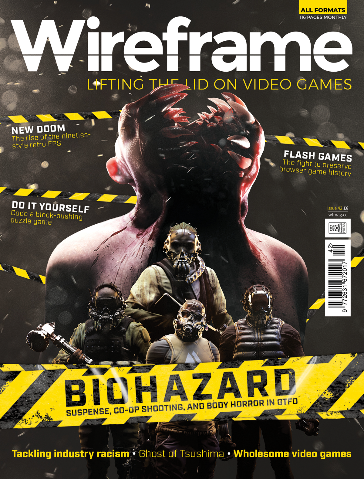 Wireframe issue 42 cover