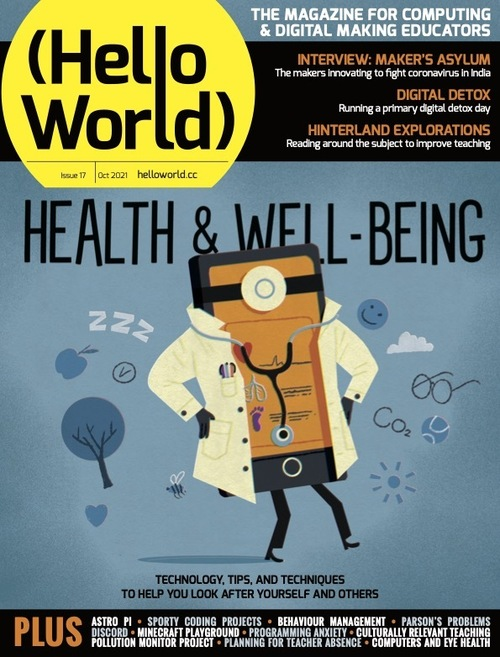 Hello World issue 17 cover