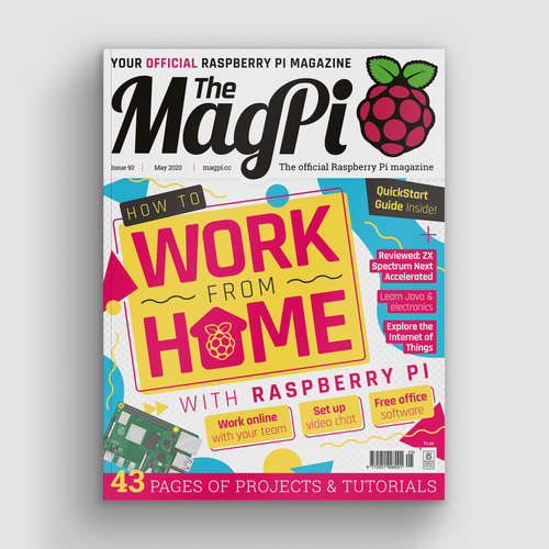The MagPi issue 93 cover