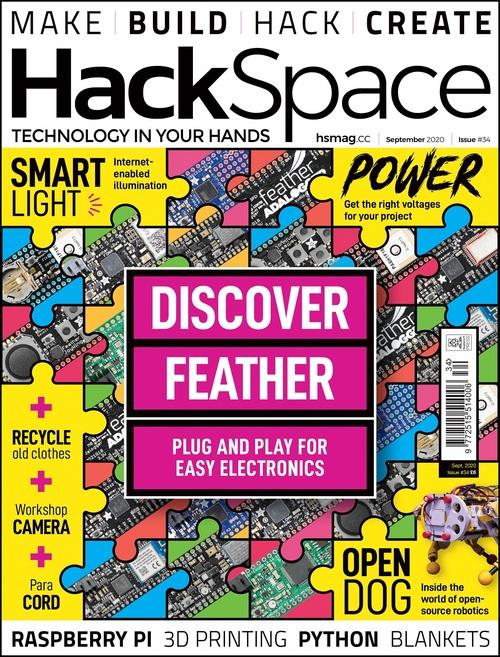 HackSpace magazine issue 34 cover
