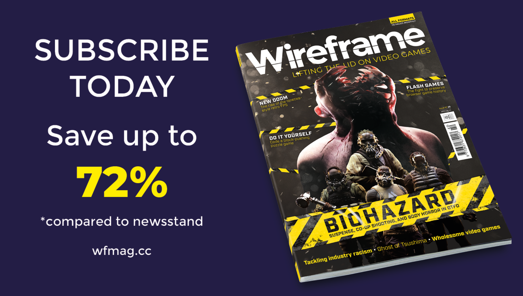 Subscribe to Wireframe magazine